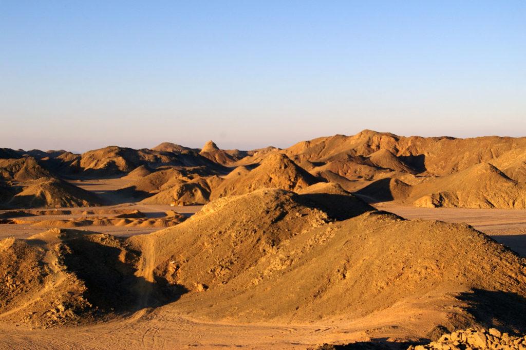Аравийская пустыня. Египет
