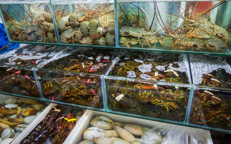 рыбный рынок Санья