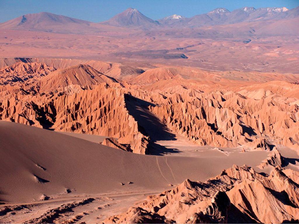 Пустыня Атакама. Марс