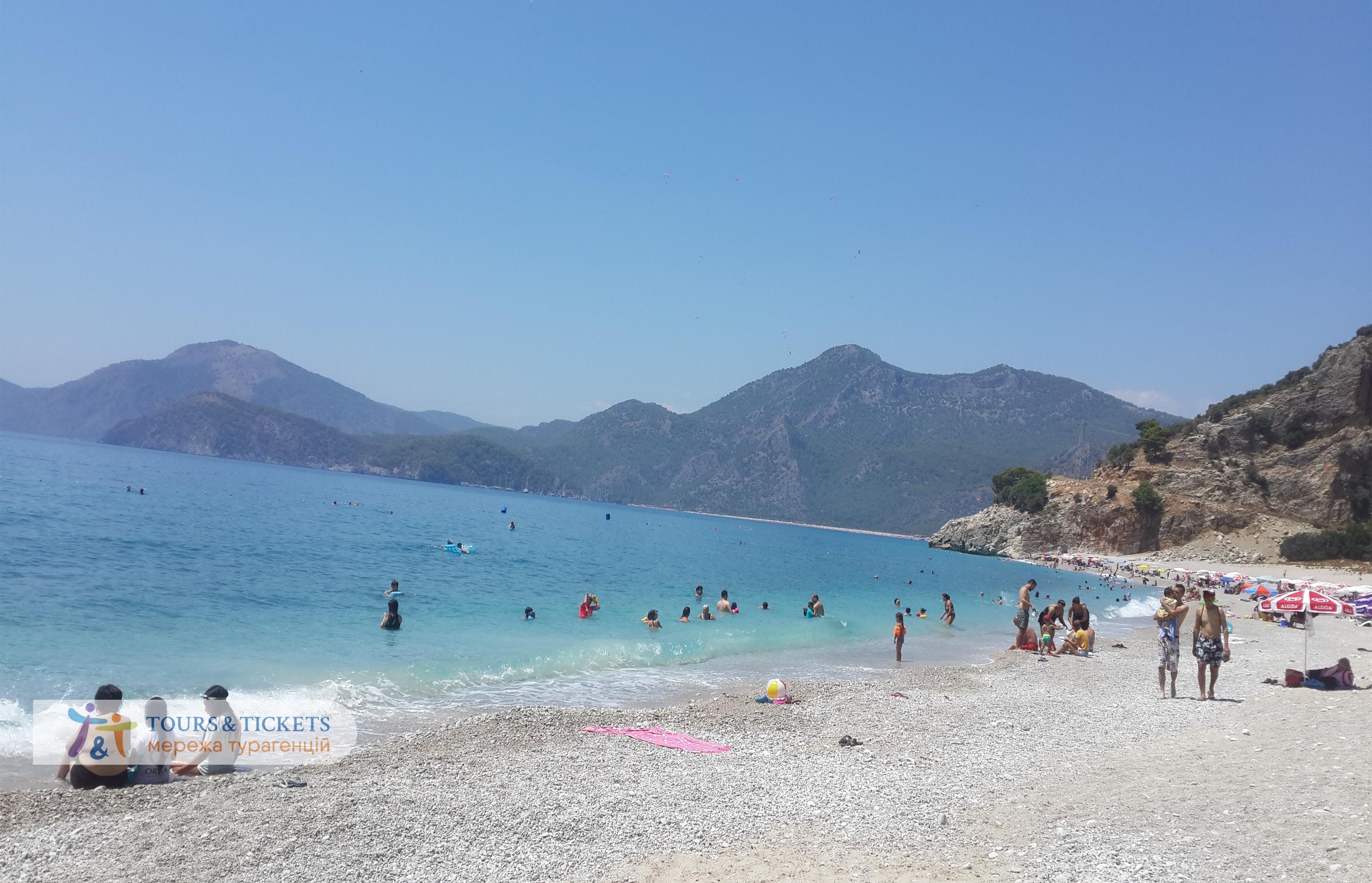 Фото пляж Кидрак. Фетхие. Турция: преимущества региона Фетхие.