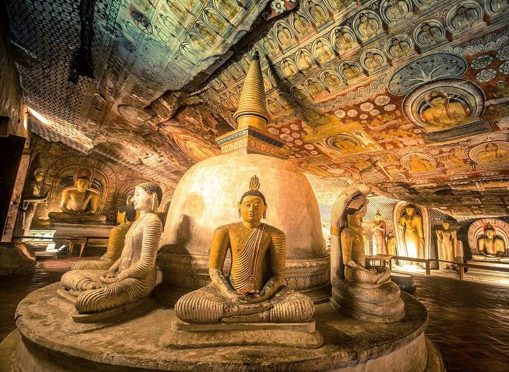 Храм Будды Шри-Ланка