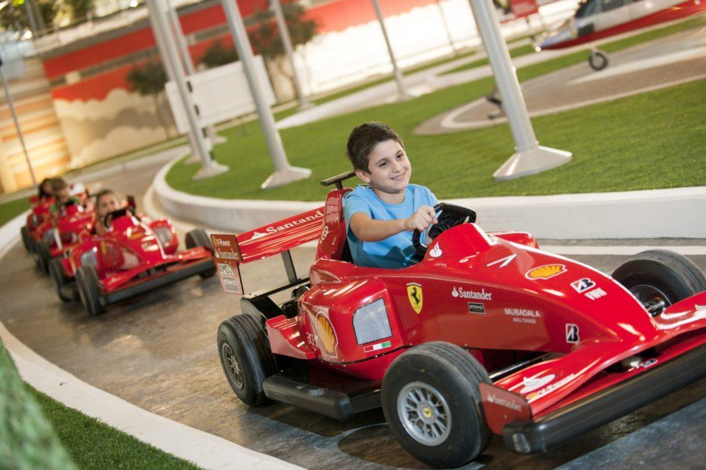 Ferrari Park, остров Яс